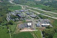 Aerial photo of Innovation Park