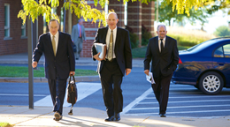 Prospective Residents Image - photo of Innovation Park executives walking